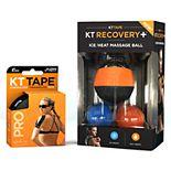 KT Tape Massager Pro Jet Black Bundle
