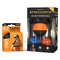 KT Tape Massager Pro Jet Black Bundle