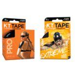 KT Tape Pro Jet Black & Extreme Tape Bundle