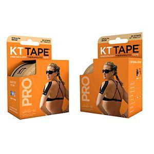 KT Tape Beige Pro Tape - (2-Pack)
