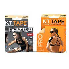 KT Tape Synthetic Stealth Beige Pro & Gentle Cotton Tape