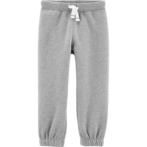 Toddler Boy Carter's Pull-On Fleece-Lined Joggers