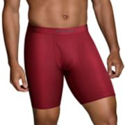 Men's Fruit of the Loom Signature Luxe Modal 3-pack Long-Leg Boxer Briefs