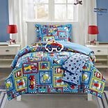 Chic Home Race Car Comforter Set