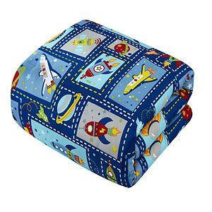 Chic Home Spaceship Comforter Set