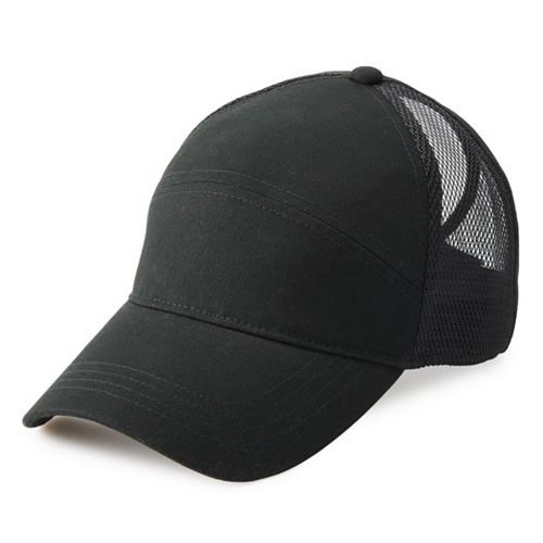 Women's FILA SPORT® Mesh-Back Baseball Cap with Ponytail Back