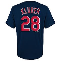 Boys 4-18 Cleveland Indians Kluber Tee