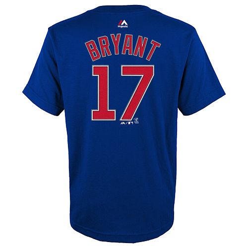 Boys 4-18 Chicago Cubs Bryant Tee