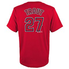 87f3ff222 Boys 4-18 Los Angeles Angels of Anaheim Trout Tee