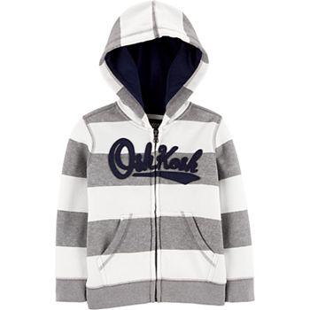 Toddler Boy Oshkosh B'gosh® Striped Logo Hoodie