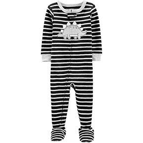 Toddler Boy Carter's Dinosaur Snug Fit Footed Pajamas
