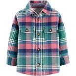 Baby Boy OshKosh B'gosh® Jersey-Lined Flannel Shirt