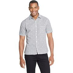 Big & Tall Van Heusen Never Tuck Slim-Fit Easy-Care Button-Down Shirt
