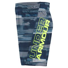 Boys 4-7 Under Armour Latitude Boost Abstract Athletic Shorts