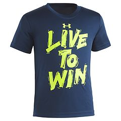 Boys 4-7 Under Armour 'Live To Win' Graphic Tee