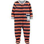 Toddler Boy Carter's Raccoon Footed Pajamas