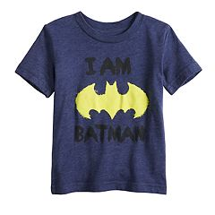 Baby Boy Jumping Beans® Scribble Bat Batman Logo Graphic Tee