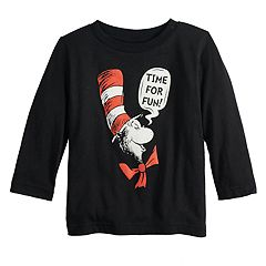 Baby Boy Jumping Beans® Dr. Seuss 'Time For Fun!' The Cat in the Hat Graphic Tee