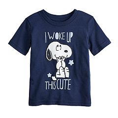 Baby Boy Jumping Beans® Peanuts Snoopy 'I Woke Up This Cute' Graphic Tee