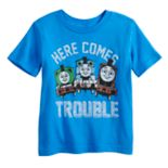 "Baby Boy Jumping Beans® Thomas the Train ""Here Comes Trouble"" Graphic Tee"