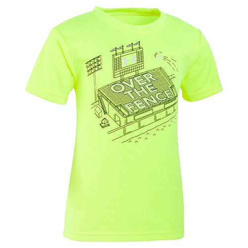 "Boys 4-7 Under Armour ""Over The Fence"" Graphic Tee"