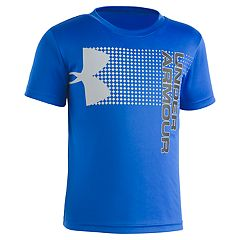 Boys 4-7 Under Armour Cross Fade Logo Graphic Tee