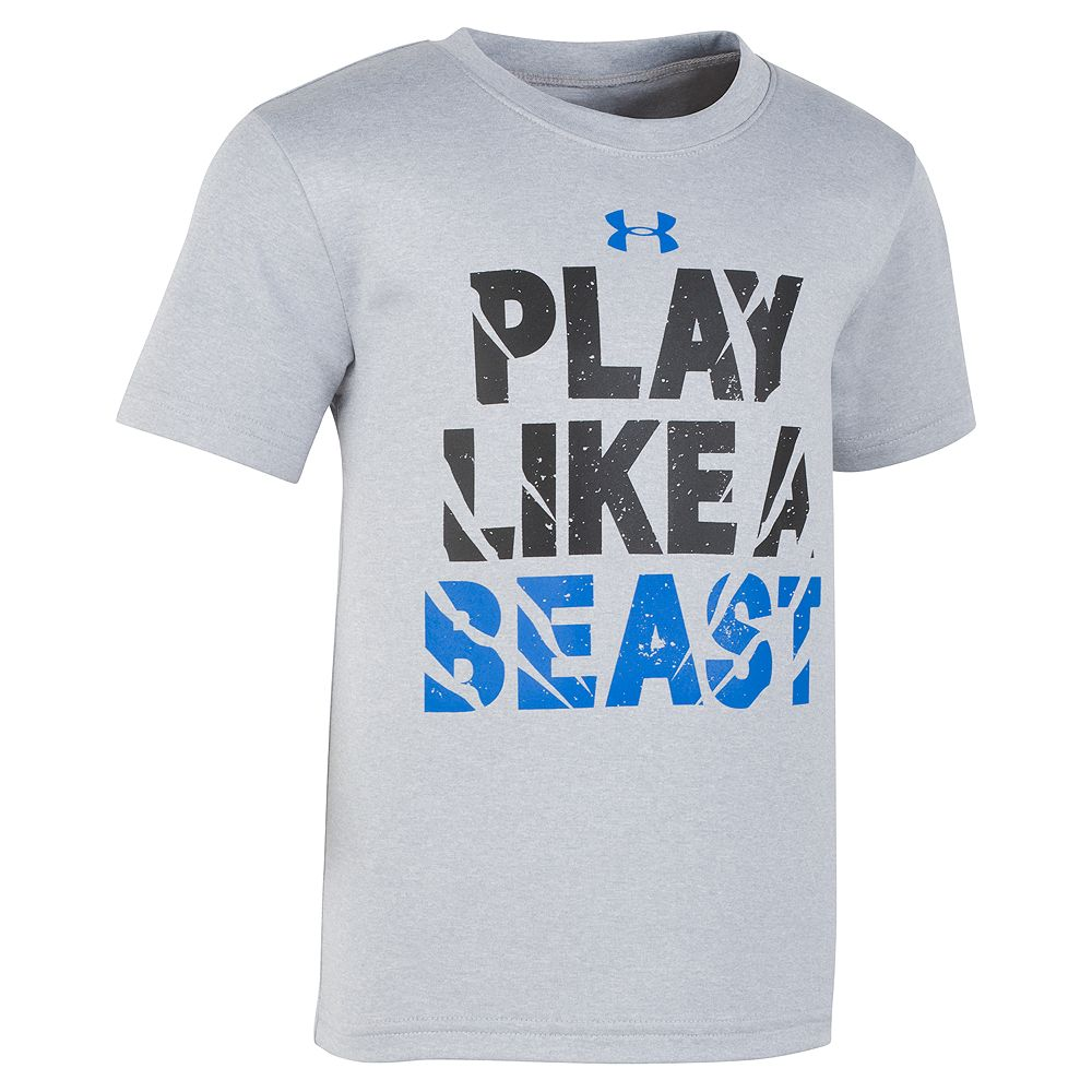 "Boys 4-7 Under Armour ""Play Like A Beast"" Graphic Tee"