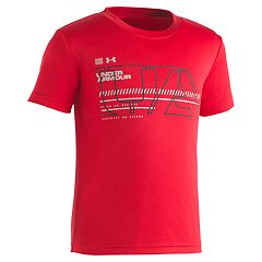Boys 4-7 Under Armour Stencil Logo Graphic Tee