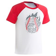 Boys 4-7 Under Armour Baseball Raglan Graphic Tee