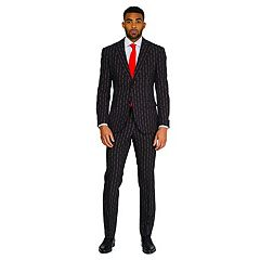 Men's OppoSuits Slim-Fit Merry Pinstripe Suit