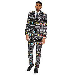 Men's OppoSuits Slim-Fit Winter Pac-Man Suit