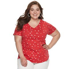 f4c32a22aa613 Womens Red EVRI Plus Clothing   Kohl's