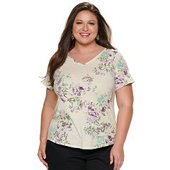 NEW! Plus Size EVRI Essential Everyday Tee