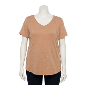 Plus Size EVRI Essential Casual Tee
