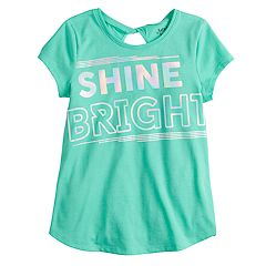 Girls 4-12 Jumping Beans® Twist-Back Graphic Tee