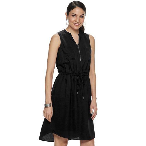 Women's Apt. 9® Sleeveless Zipper-Accent Dress