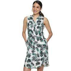 1dc94bf580 Women s Apt. 9® Sleeveless Zipper-Accent Dress