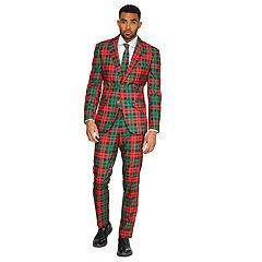 Men's OppoSuits Slim-Fit Trendy Tartan Suit