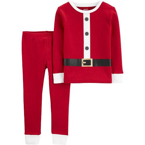 Baby Boy Carter's 2-Piece Santa Snug Fit Cotton PJs