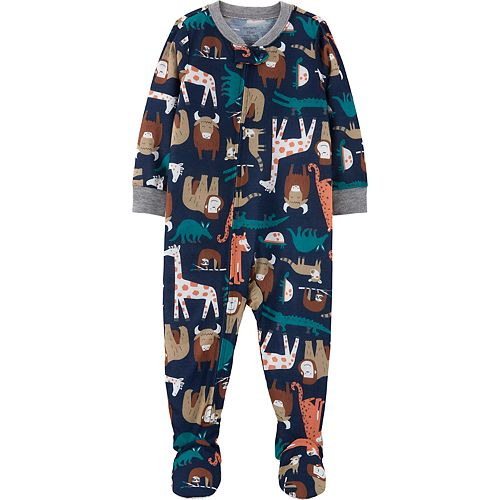 Baby Boy Carter's Animal Footed Pajamas