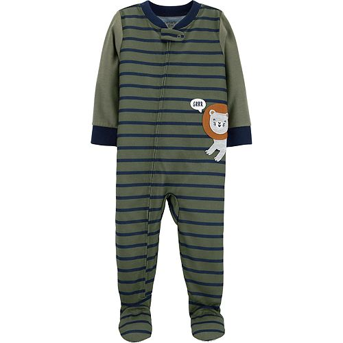 Baby Boy Carter's Lion Footed Pajamas