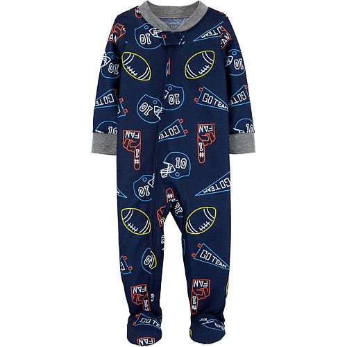 Baby Boy Carter's Sports Footed Pajamas