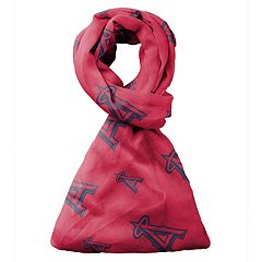 Forever Collectibles Los Angeles Angels of Anaheim Team Logo Infinity Scarf