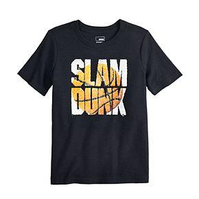 "Boys 4-12 SONOMA Goods for Life? Flip Sequins ""Slam Dunk"" Graphic Tee"