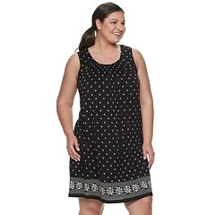 67b5710aaf8c Plus Size Croft & Barrow® Smocked Nightgown