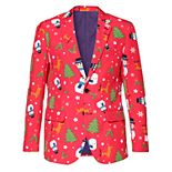 Men's OppoSuits Slim-Fit Christmaster Blazer