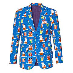 Men's OppoSuits Slim-Fit Giftmas Eve Blazer