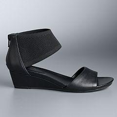 6358b2a4d12 Simply Vera Vera Wang Prosperity Women s Wedge Sandals