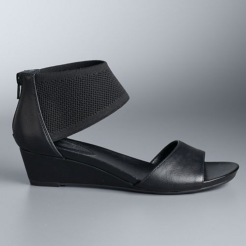 Simply Vera Vera Wang Redfree Women's Wedge Sandals