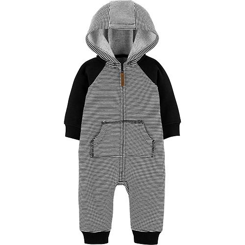 Baby Boy Carter's Hooded Dog Coverall